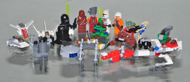 lego star wars advent calendar 2012 instructions